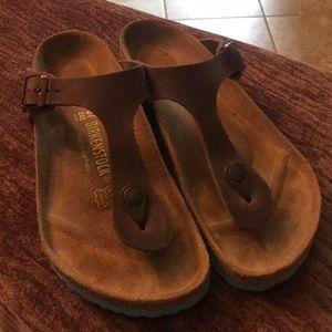 Birkenstock Gizeh size 37 Oiled Leather Sandal